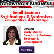GROWING A BUSINESS Quiroz