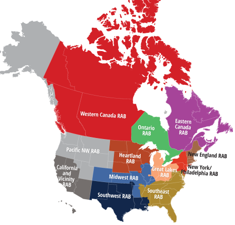 Regional Map Of Canada.Regional Advisory Boards