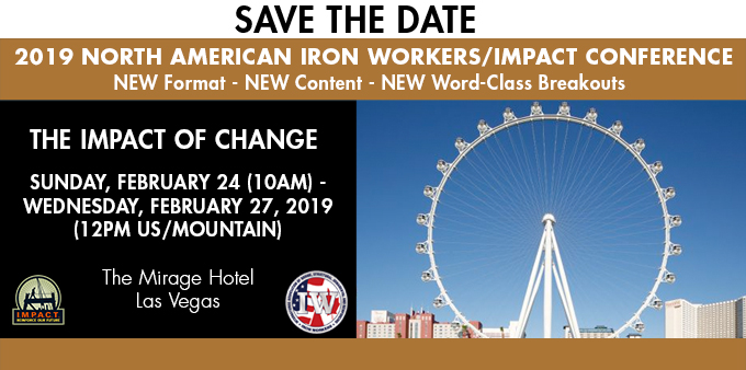 THE IMPACT OF CHANGE Save The Date