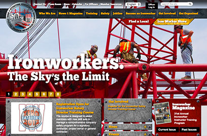 Ironworkers site